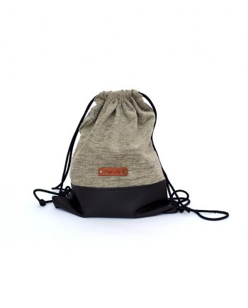 yoga drawstring backpack