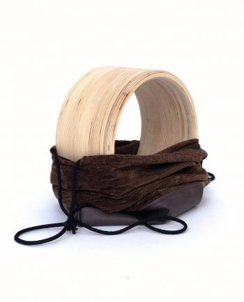 Yoga wheel with drawstring backpack